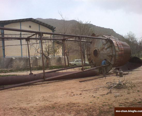 منبع آب موچان