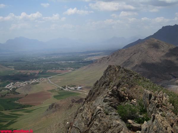 کوه نثار پیاده